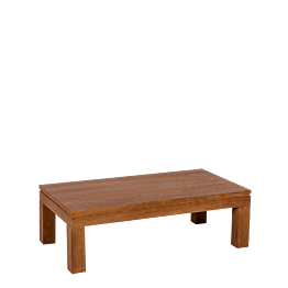 Table basse bois 110 x 60 cm H 35 cm