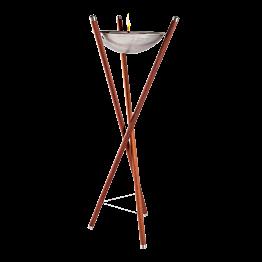 Torche Nomade bois naturel H 175 cm