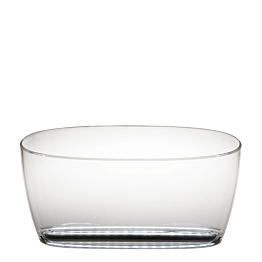 Vasque à champagne lumineuse 48,2 x 20,9 cm H 24,3 cm