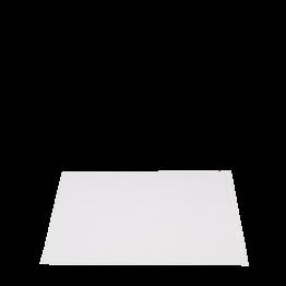 Set de table Alaska coton blanc uni 30 x 45 cm