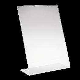 Porte-menu plexi A4