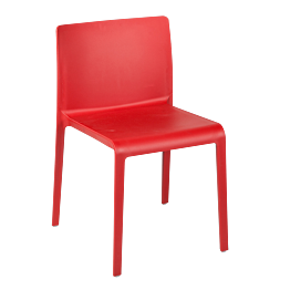 Chaise Sila rouge