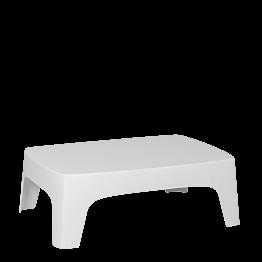 Table basse Lalisse blanche 73 x 106 cm H 35 cm