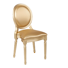 Chaise Montaigne Or