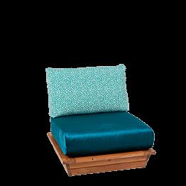 Fauteuil Lounge Ibiza 76 x 76 cm H 70 cm