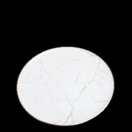 Assiette plate Marbre Filet Or Ø 28 cm