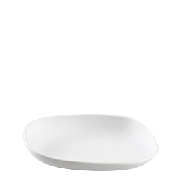 Galet blanc 14 x 11 x 3 cm 8 cl