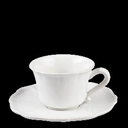 Tasse et sous-tasse à thé Romance 20 cl