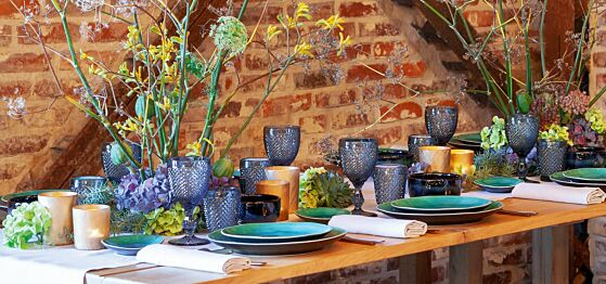Diner au cottage