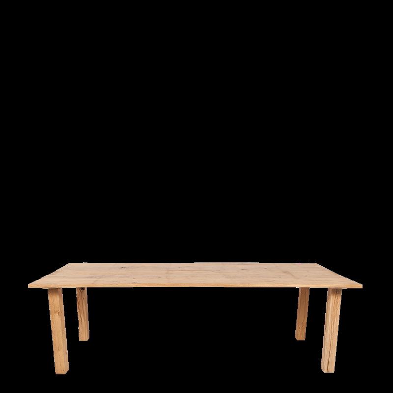 Location Table Nature En Chêne 240 X 100 Cm Options