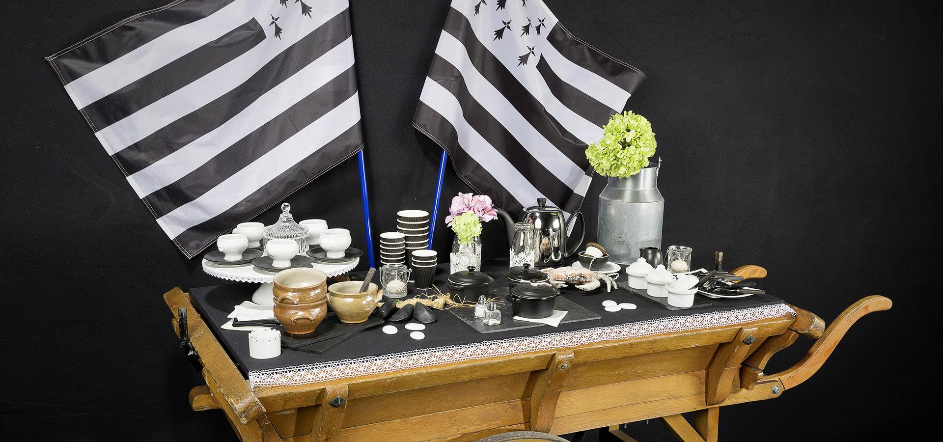 Deco De Table Bretonne location de matériel pour une ambiance bretagne sur vos