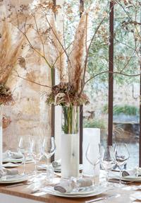 vases et centres de table